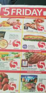 Save at Safeways on Friday only specials
